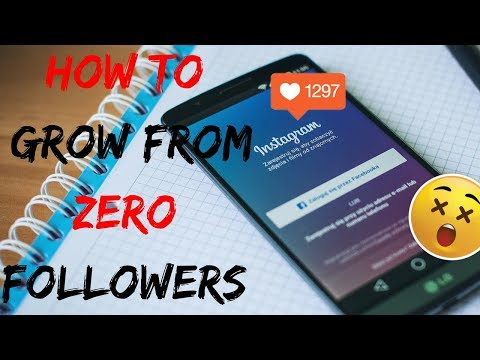 INSTAGRAM | How to Grow From 0 Followers | 3 TIPS