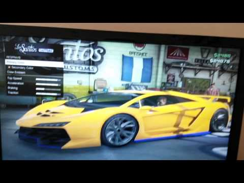 How to get a mint green paint job in gta part 1