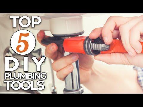 TOP 5 DIY Plumbing Tools Every Homeowner Should Own