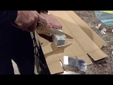 Cutting a Closed Cellular Shade