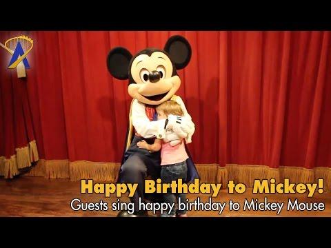 Mickey Mouse's Birthday Meet & Greet at Disney's Magic Kingdom