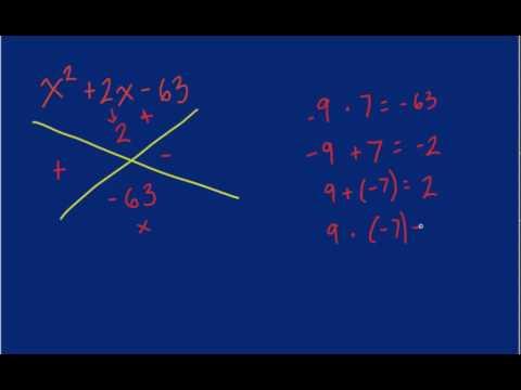 Algebra - Factoring Trinomials.mp4