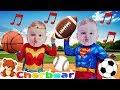 quotI GOTTA BALLquot Song New Kids Songs 2018 Superhero Babies Sing Along Baby Superheroes CHERBEAR SONG