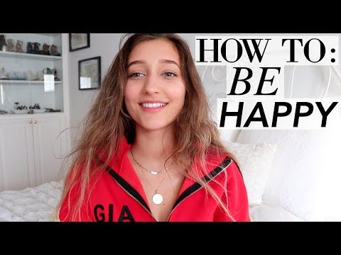 HOW TO BE HAPPY | Life hacks to keep resolutions!
