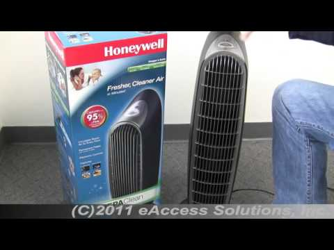 Honeywell HEPAClean HHT-090 Tower Air Purifier with Permanent Filter