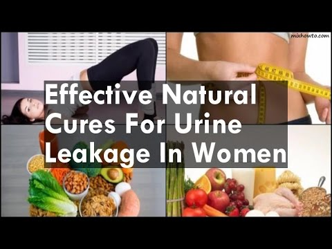 Natural Cures For Urine Leakage In Women