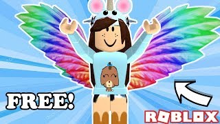 How To Get Rainbow Wings Roblox Videos 9tubetv - how to get the rainbow wings in roblox