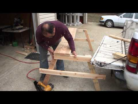 How To Build A Cheap Wood Picnic Table - A Complete Guide From Start To Finish