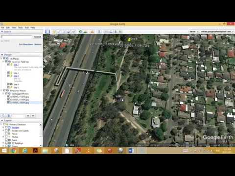Uploading geotagged photos to Google Earth