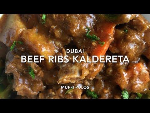 Beef Kaldereta (Dubai Ilocano Style)