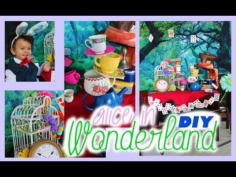 Alice in Wonderland DIY