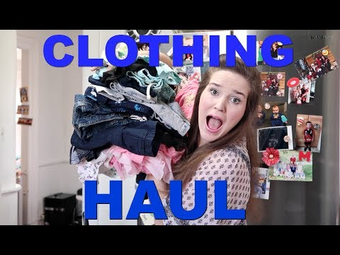 KID CLOTHING HAUL: 5 KIDS 4 AND UNDER