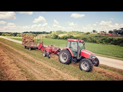 Straw Square Baling - McCormick Tractor & Case iH Square Baler