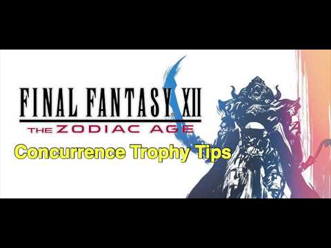 FFXII HD: The Zodiac Age Concurrence Trophy Tips