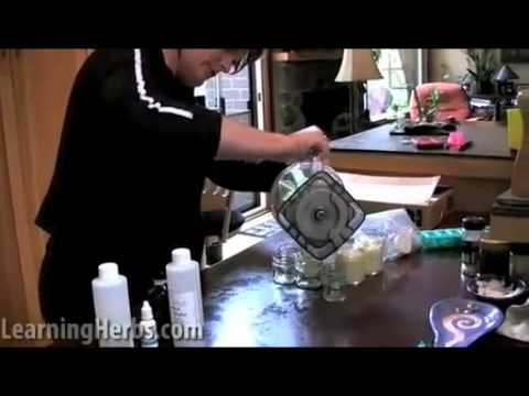 How to Make Skin Cream with Herbs, Part 4