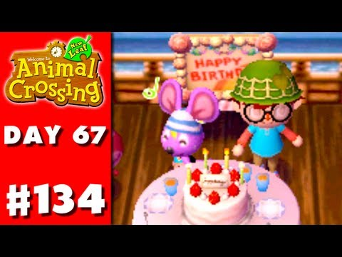 Animal Crossing: New Leaf - Part 134 - Rod's Birthday (Nintendo 3DS Gameplay Walkthrough Day 67)