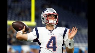 Jarrett Stidham - All runs & completed passes from New England Patriots 2019 Pre & Regular season