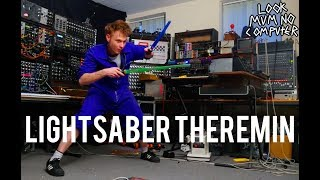 LIghtSaber Theremin, Star Wars Musical Machine.