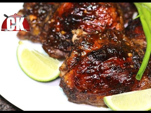How to make Jerk Chicken - Baked Jerk Chicken - Chef Kendra's Easy Cooking!