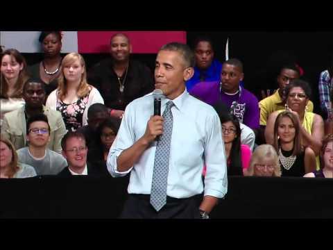 President Obama's College Advice