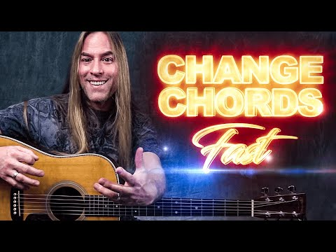 1 Simple Trick for Smooth Chord Changes -  Guitar Lesson