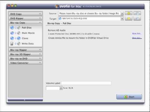 DVDFab Blu-ray Copy for Mac Review