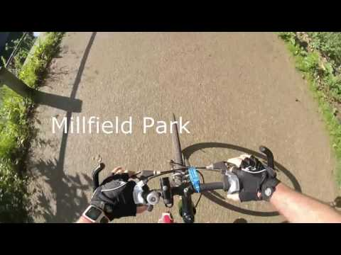 Ride / Cycle from Tottenham Marshes to Canary Wharf along the River Lea