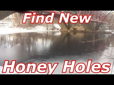 How to Find New/Good Ponds, Lakes, Rivers - using my tips for google maps-