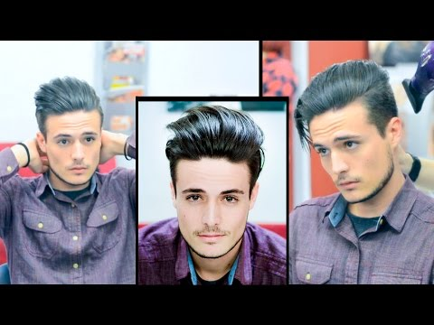 Mens Hair: Modern Slick Back - Faded Undercut | Haircut and Style