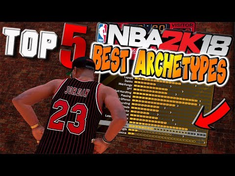 TOP 5 MUST BUILD DUAL ARCHETYPES in NBA 2K18