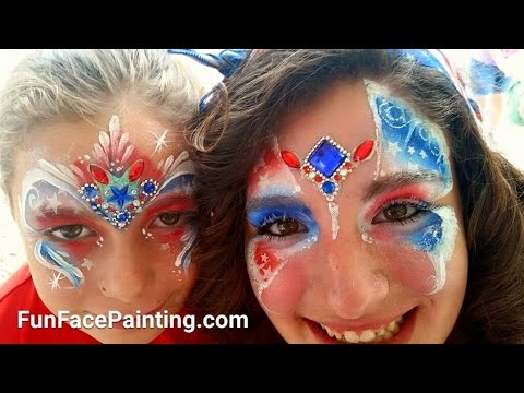 Make Jewel Bling Clusters Skin Safe For Face and Body Painting