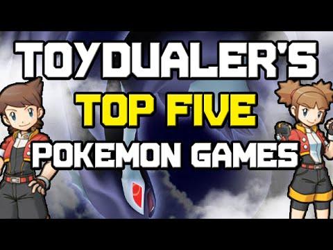 ToyDualer's Top 5 Favorite Pokemon Games!