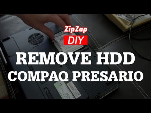 HP Compaq Presario V5000, Hard Drive How to Remove and Replace