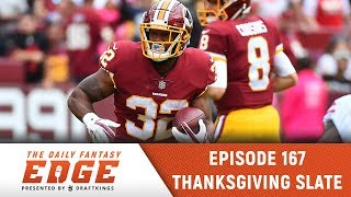 Daily Fantasy Edge - Thanksgiving Edition - Ep. 167