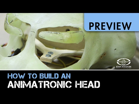 How to Build An Animatronic Head - Part 3 - PREVIEW