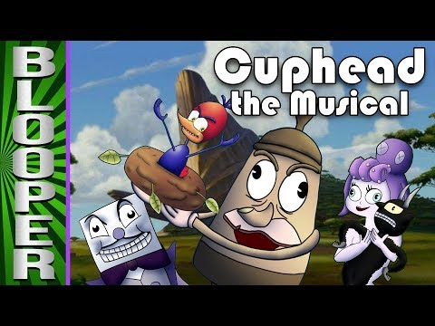 Cuphead the Musical BLOOPERS (Feat. NateWantsToBattle, Jacksepticeye, MatPat & More!)