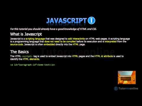 Javascript - What is Javascript?