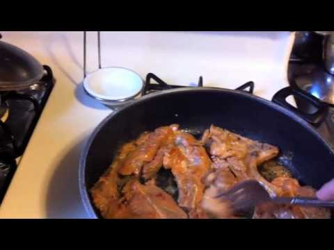 Chef celly makes  Spanish style fried pork chops/chuletas fritas