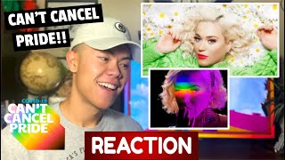 Katy Perry - Can't Cancel Pride Performance REACTION
