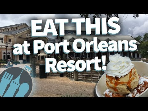 EAT THIS at Disney World's Port Orleans Resort!