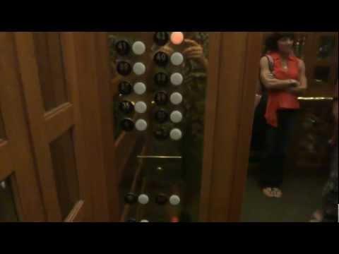 Otis High Rise elevators @ CityPlace Tower Dallas TX w Gluse for NYElevators