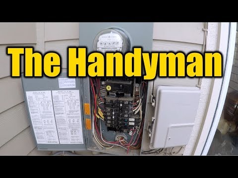 Installing A New Circuit To Your Garage | THE HANDYMAN |