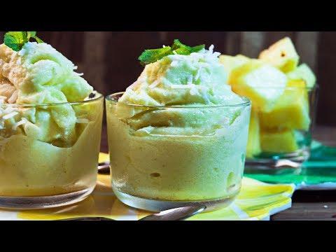 Pineapple,Thai Basil & Ginger Sorbet