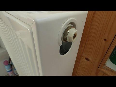 Bleeding radiators, help! The little valve is stuck.