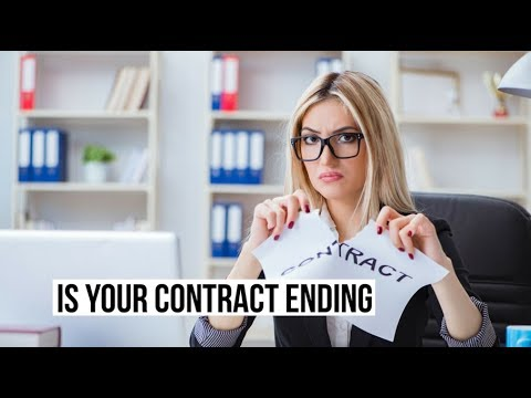 Is Your Contract Ending?