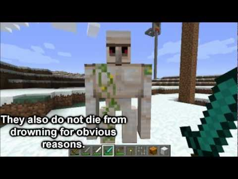 Minecraft Mob Guide - Iron Golem