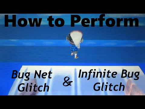 How to: Perform the Bug Net and Infinite Bug Glitches in ACNL