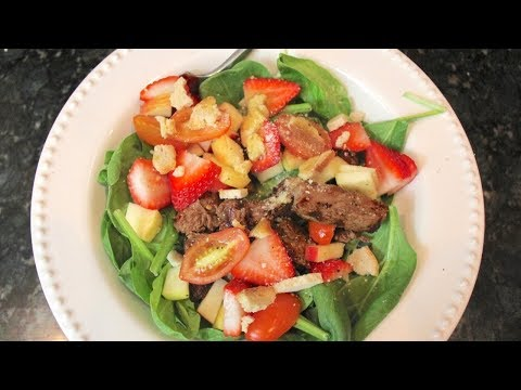 Steak Salad Recipe: Easy Dinner Recipes