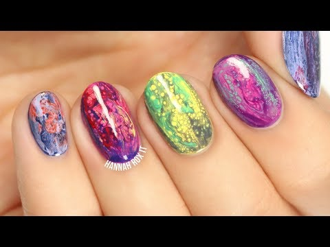 Fluid Nail Art // Testing Sinful Colors Transforming Top Coats!