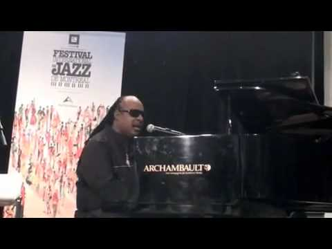 Stevie Wonder tribute to Michael Jackson with subtitles I Just Called To Say I Love You
